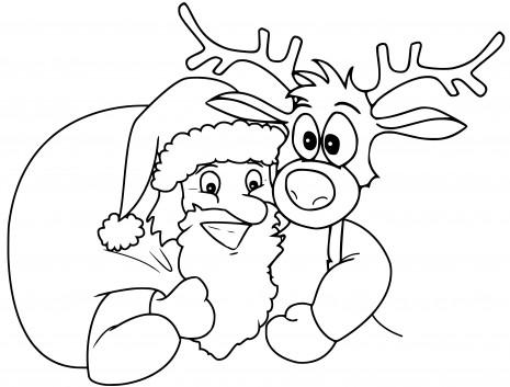 Dibujos infantiles de navidad para colorear 4