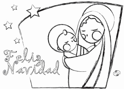 Dibujos De Navidad Muy Bonitos.54 Dibujos De Navidad Tarjetas Papa Noel Y Arbolitos De