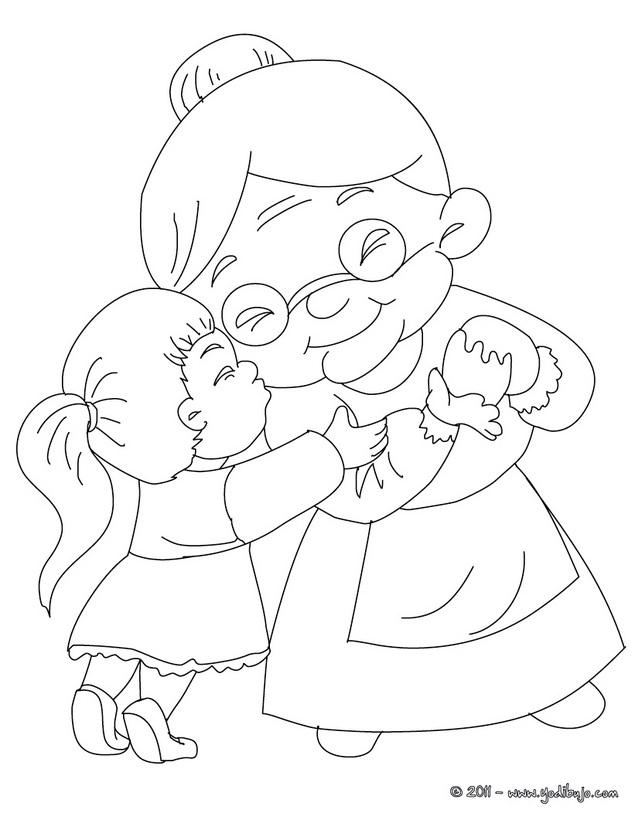 Dibujos del d a de la abuela para colorear colorear im genes - Donazione di una casa a un nipote ...