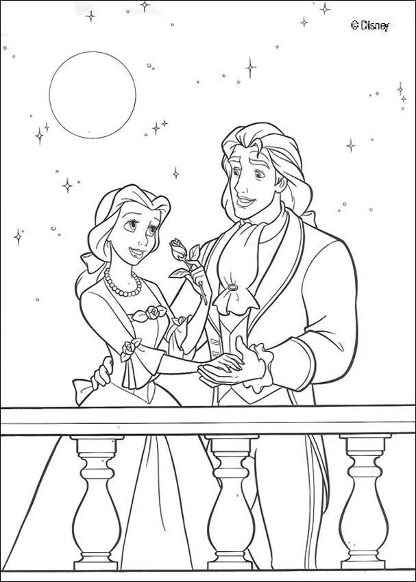 Dibujos Del Cuento Infantil La Bella Y La Bestia Para