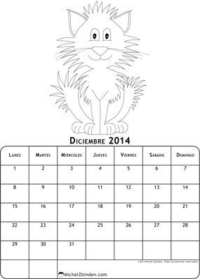 calendario-diciembre-2014-dibujo-para-colorear-gato-l