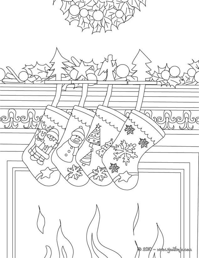Dibujos Chimeneas De Navidad.Dibujos Para Pintar De Chimeneas En Navidad Colorear Imagenes