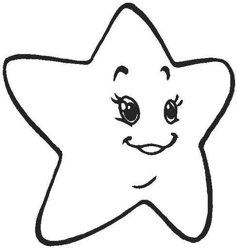Dibujos De Estrellas De Navidad Para Pintar Cometas Colorear