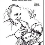 Frases e imágenes del Papa Francisco para pintar