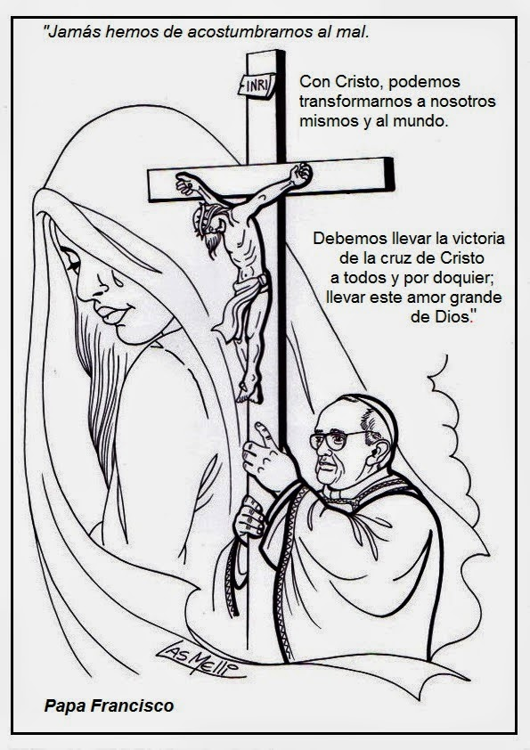frases e im u00e1genes del papa francisco para pintar