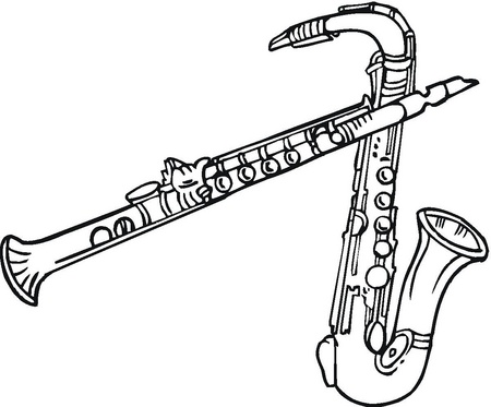 instrumentoscolodos-saxofones-dibujos-para-colorear
