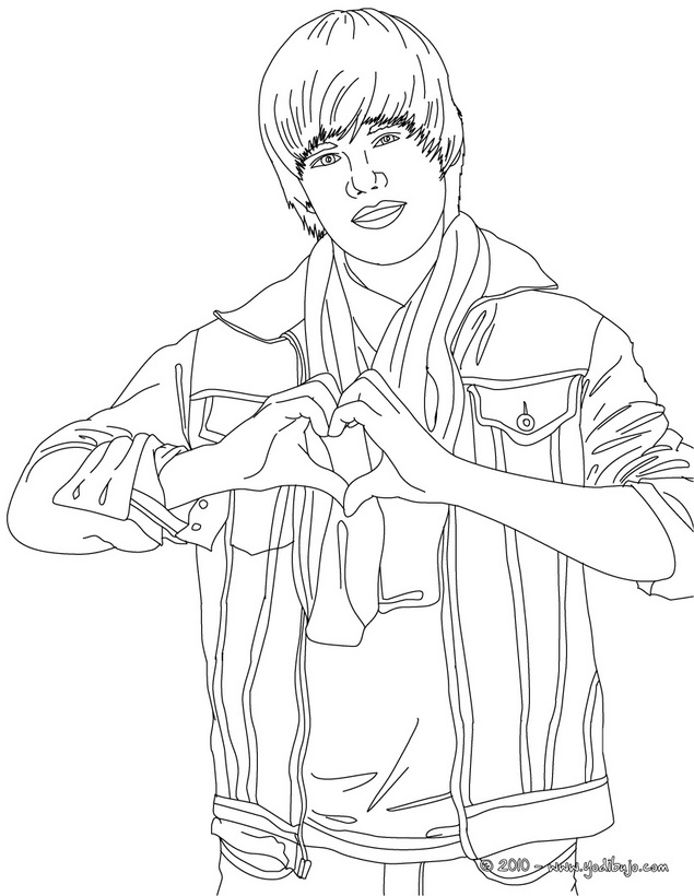 justin bieber coloring pages 2013 - photo#33