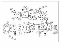 Colorear Merry Christmas – Madebymcl