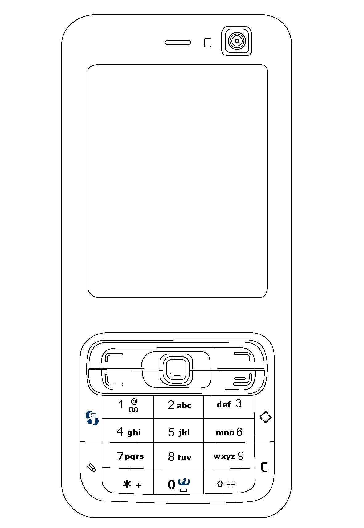 Teléfonos celulares para colorear | Colorear imágenes