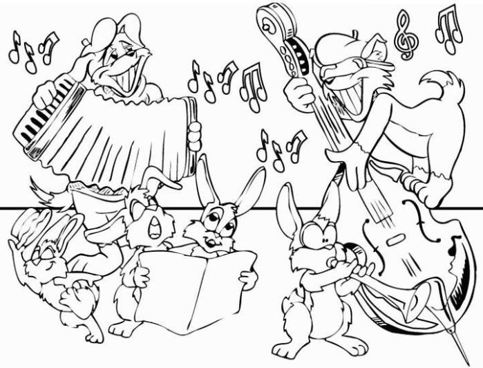Santa Cecilia – Dibujos de la Patrona de la Música para pintar ...