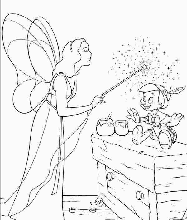 Dibujos De Pinocho Para Pintar Colorear Imágenes