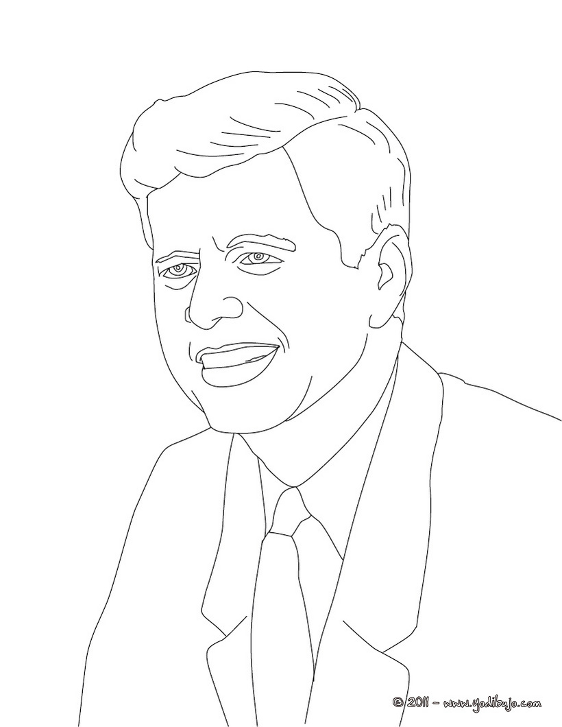 Presidentes de Estados Unidos para pintar | Colorear imágenes