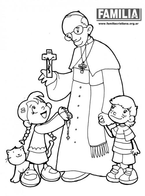 Dibujos De Imágenes Religiosas Para Pintar Colorear Imágenes