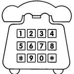 Teléfonos convencionales para pintar