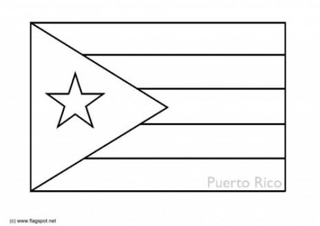 Bandera-Puerto-Rico-para-colorear-2