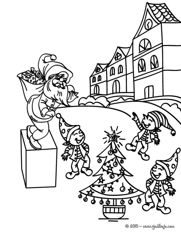 Dibujos De Los Ayudantes De Pap 225 Noel Para Pintar