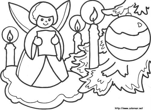 Manualidades de Navidad para imprimir, pintar y recortar   Colorear ...