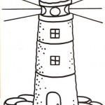 Faros – Dibujos infantiles para pintar
