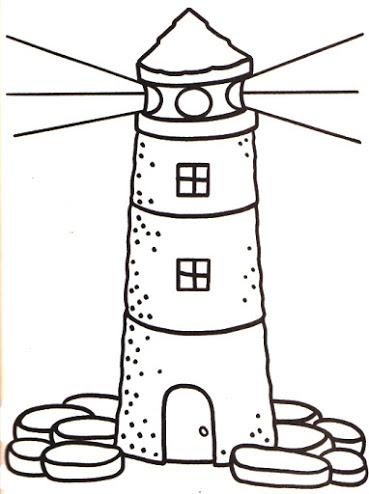 Faros Dibujos Infantiles Para Pintar Colorear Imágenes