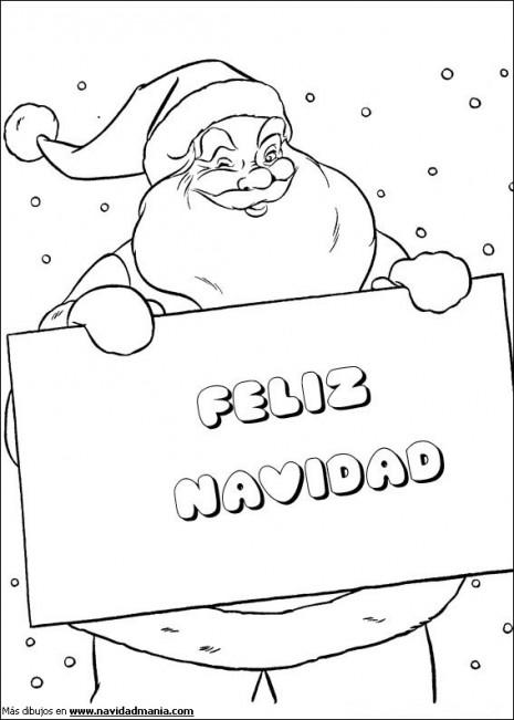 Manualidades De Navidad Para Imprimir Pintar Y Recortar Colorear