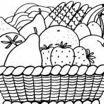 Dibujos de frutas para pintar