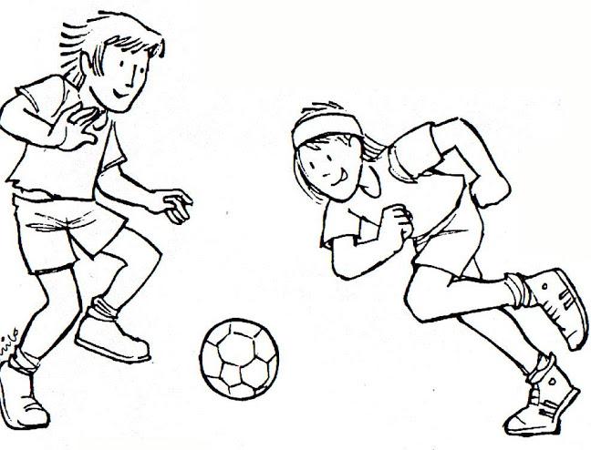 Imágenes Para Pintar De Futbol Para El Día Del Futbolista