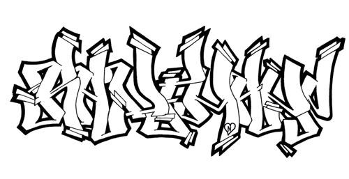 Dibujos de graffiti para imprimir y colorear | Colorear imágenes