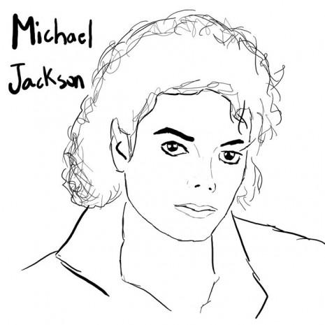 Dibujos para pintar de Michael Jackson Colorear im genes