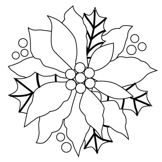 Navidad Dibujos Para Colorear Faciles. Color De Navidad Imprimible ...