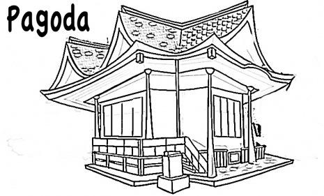 pagoda-coloring-page