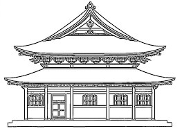 Image Result For Pagoda Coloring Page