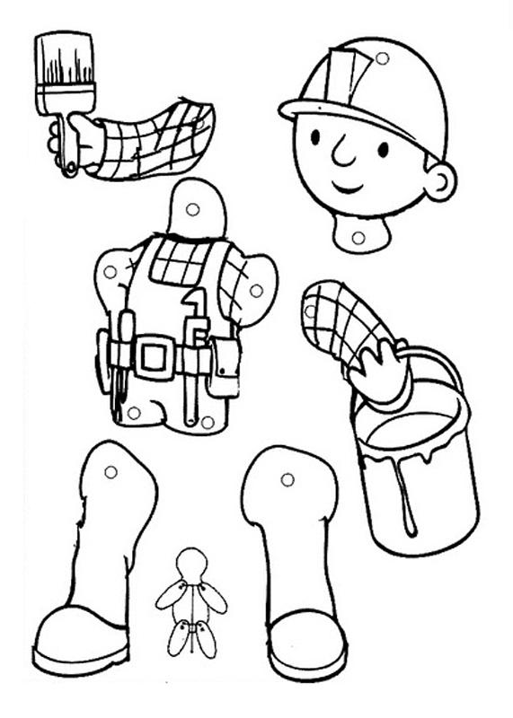 Manualidades De Marionetas Para Imprimir Colorear Y