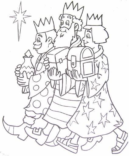 Reyes-Magos-con-regalos-y-presentes