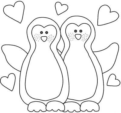 Dibujos Para Pintar De Animales Enamorados Colorear Imágenes