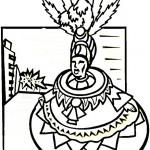 Dibujos del Carnaval carioca para colorear