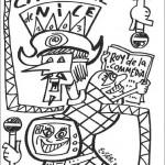 Dibujos de Carnaval para imprimir y colorear