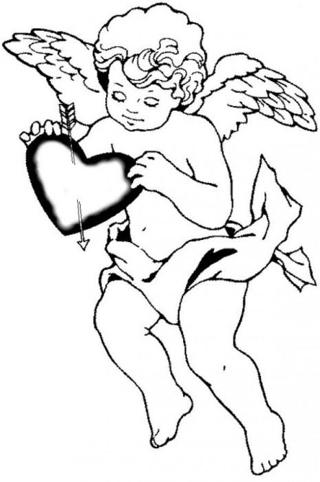 cupido-y-san-valentin-dibujos-infantiles
