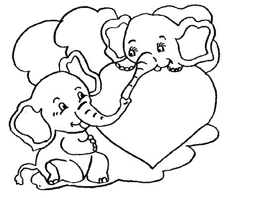 22 Dibujos De Elefantes Tiernos Para Colorear Elefantes De Circo