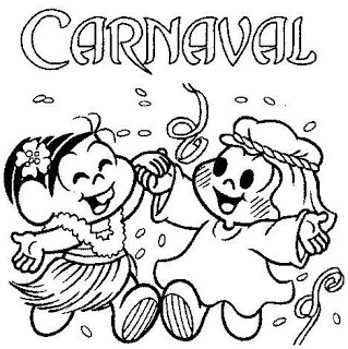 Dibujos Infantiles De Fiestas De Carnaval Para Pintar