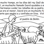 Historias bíblicas para imprimir y colorear