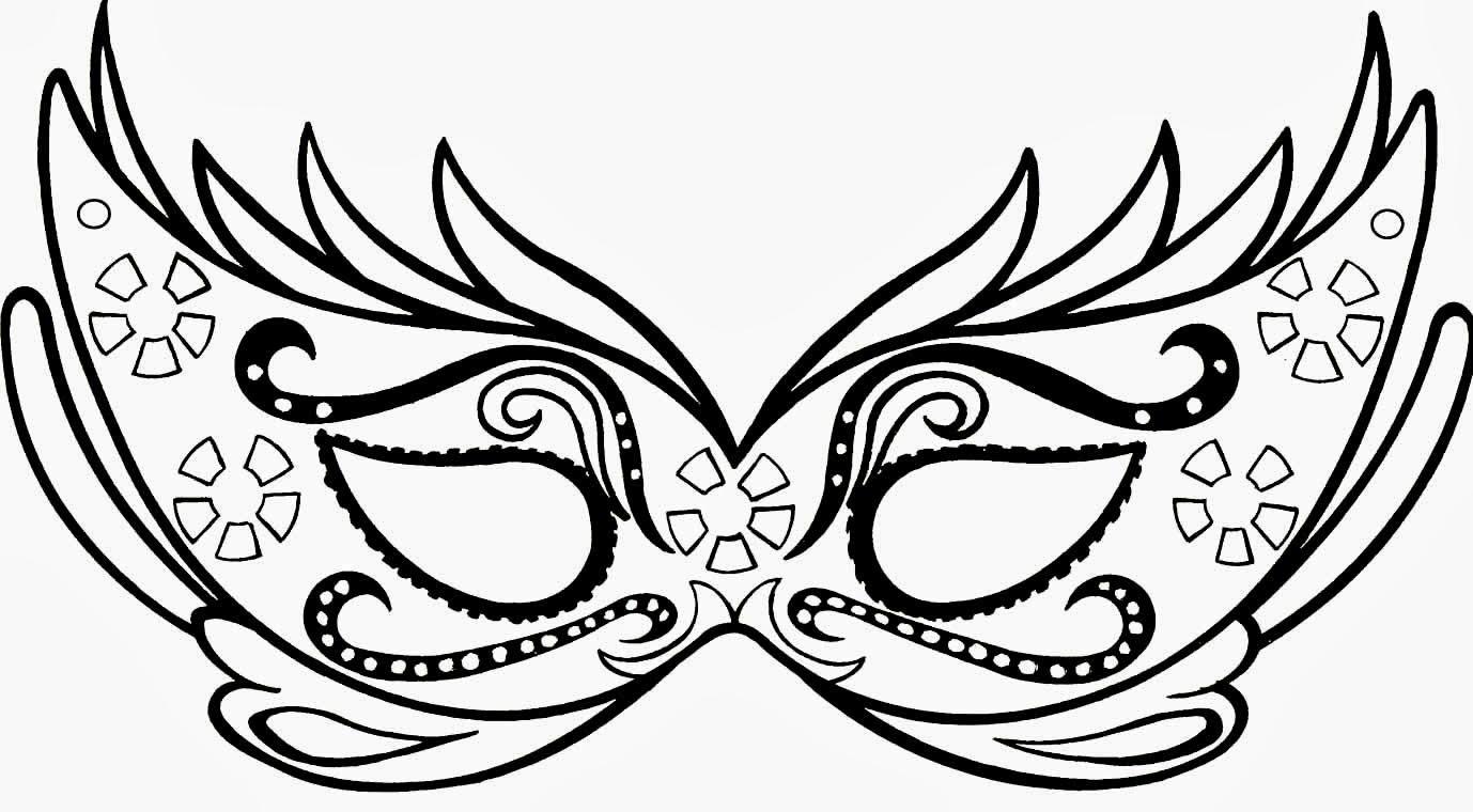 40 Mascaras Carnaval Para Colorear | Coloring Pages