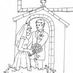 Dibujos del Día del Matrimonio para colorear
