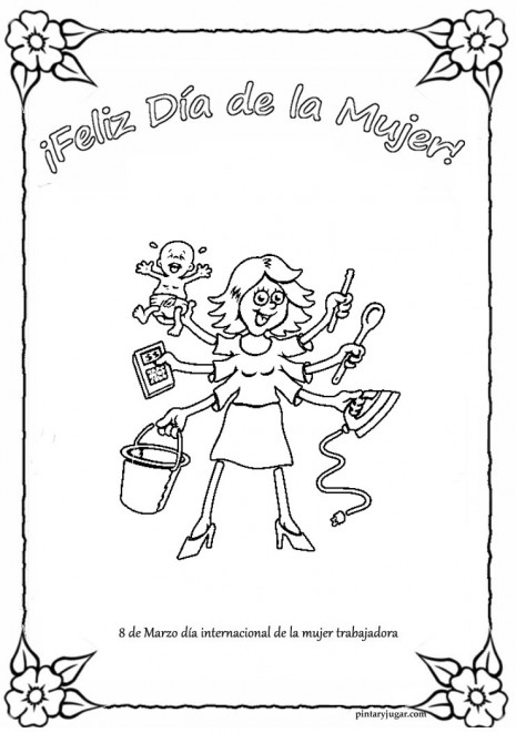 mujer trabajadora multitarea pintaryjugar 3 1 1 1[2]