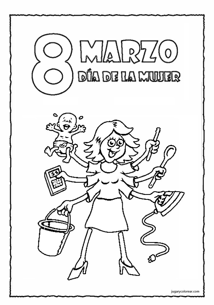 Lujo Chica Para Colorear Imprimible Gratis Ornamento - Dibujos Para ...