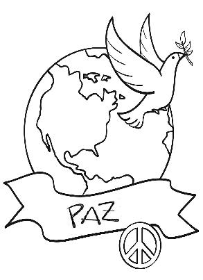 30 De Enero Día De La Paz Y La No Violencia Para Pintar Colorear
