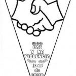 30 de enero – Día de la Paz y la No violencia para pintar
