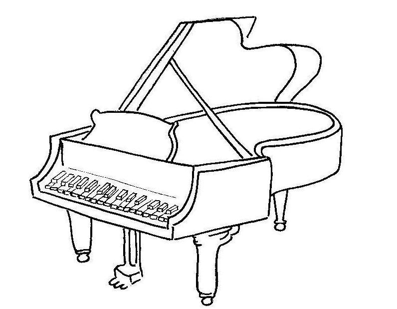 Instrumentos Musicales Para Colorear Y Pintar Colorear Imágenes