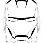 Máscaras de superhéroes para descargar y pintar