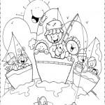"""Pintando dibujos de """"Felices Vacaciones"""": Imágenes de vacaciones para descargar"""