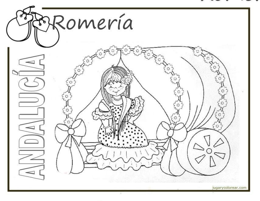 Dibujos Del Día De La Comunidad Autónoma De Andalucía Para